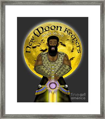 New Moon Keepers Framed Print