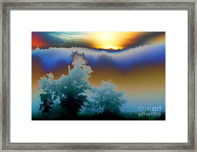 Framed Print featuring the photograph New Morning Light by Jesse Ciazza