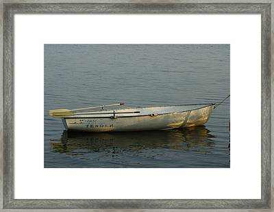 Framed Print featuring the photograph New Oars by Ron Read