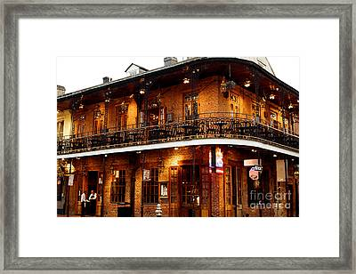 New Orleans And All That Jazz Framed Print by Kim Fearheiley