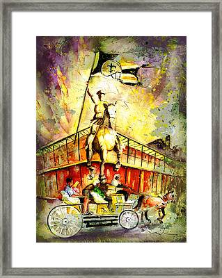 New Orleans Authentic Madness Framed Print
