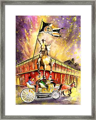 New Orleans Authentic Framed Print by Miki De Goodaboom