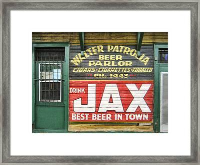 New Orleans Beer Parlor Framed Print