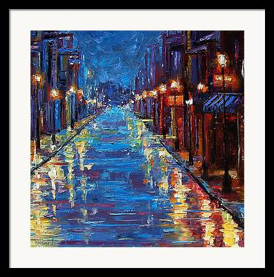 New Orleans Paintings Framed Prints