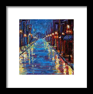 Bourbon Street Framed Prints