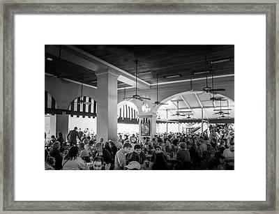 New Orleans,  Cafe Du Monde Coffee Shop Stand  Framed Print