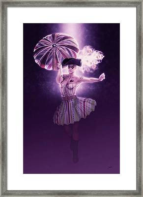 New Orleans Carnival Framed Print by Joaquin Abella