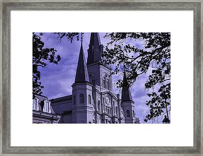 New Orleans Cathedral Framed Print