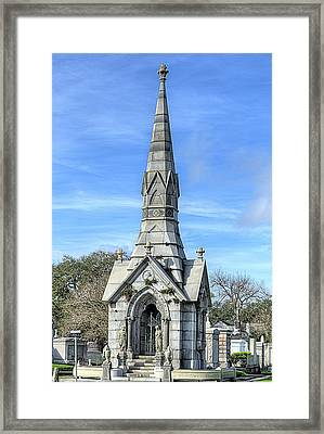 Framed Print featuring the photograph New Orleans Cemeteries by JC Findley