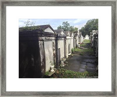 New Orleans Cemetery Framed Print