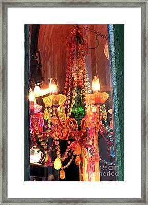 New Orleans Chandelier Framed Print