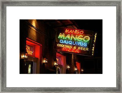 New Orleans Daiquiris Framed Print by Peter Verdnik
