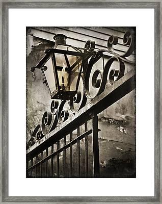 New Orleans Gaslight Framed Print