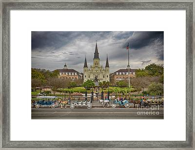New Orleans Jackson Square Framed Print