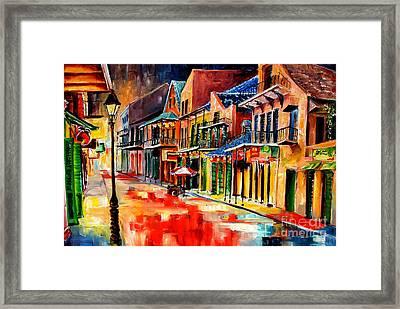 New Orleans Jive Framed Print by Diane Millsap