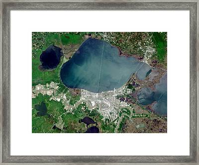 New Orleans Framed Print by Nasa