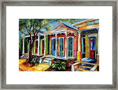 New Orleans Plain And Fancy Framed Print