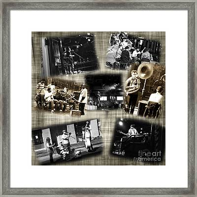 New Orleans Players Framed Print