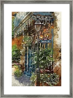 New Orleans - Royal Street Framed Print