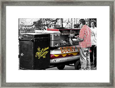 New Orleans Traditions Fusion Framed Print
