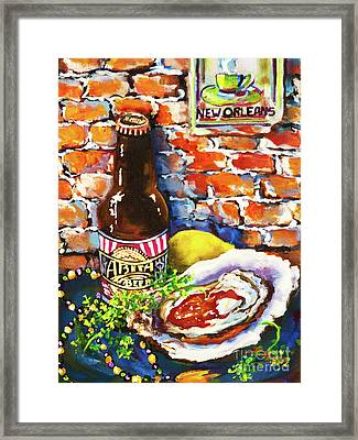 New Orleans Treats Framed Print