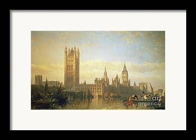 River Thames Framed Prints