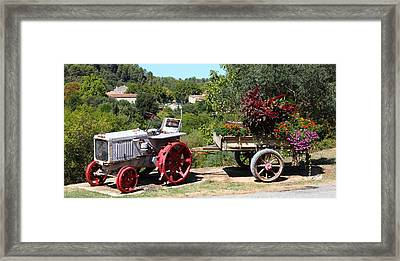 Framed Print featuring the photograph New Pastures by Richard Patmore
