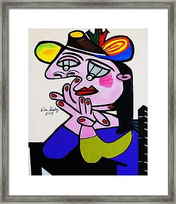 Picasso  Bug Eye Framed Print