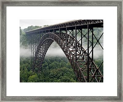 New River Gorge Bridge West Virginia Framed Print
