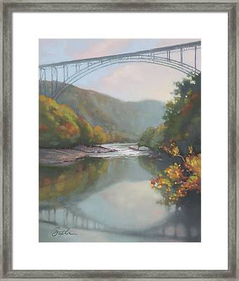 New River Gorge Framed Print by Todd Baxter