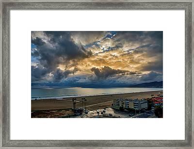 New Sky After The Rain Framed Print