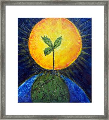 New Thought Framed Print by Karla Phlypo-Price