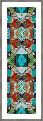 New Totem Number 1 Framed Print