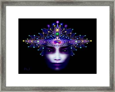 Celestial  Beauty Framed Print