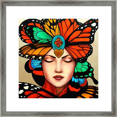 New Vision Framed Print by Helena Rose