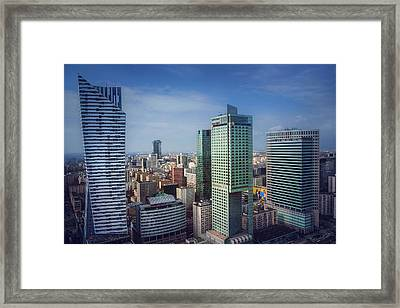 New Warsaw  Framed Print by Carol Japp