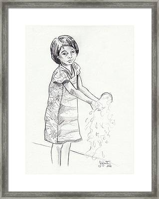 New Water Framed Print by John Keaton