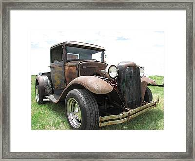 New Wheels Framed Print by Eric Dee