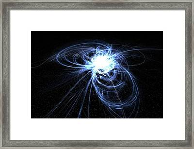 New Work!! dreamcatcher #art Framed Print by Michal Dunaj