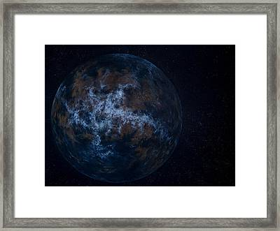 Extrasolar Planet Framed Print