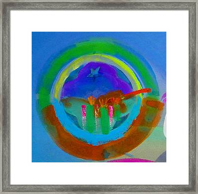 Framed Print featuring the painting New World Spring by Charles Stuart