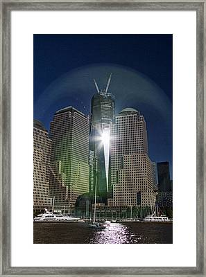 New World Trade Center Framed Print