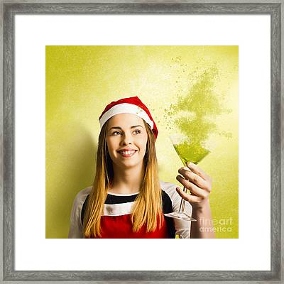 New Year Christmas Party Framed Print by Jorgo Photography - Wall Art Gallery
