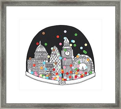 New Year Framed Print