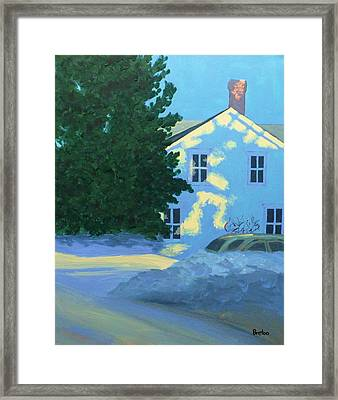 New Year Framed Print by Laurie Breton