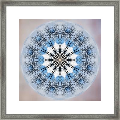 New Year Mandala - Framed Print