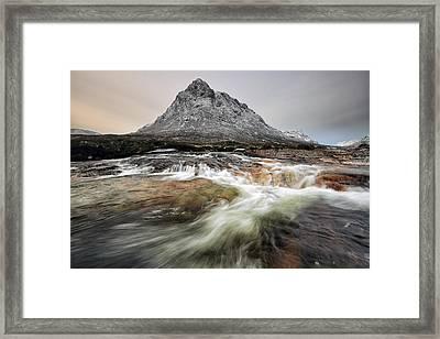 New Year Mountain Framed Print by Grant Glendinning