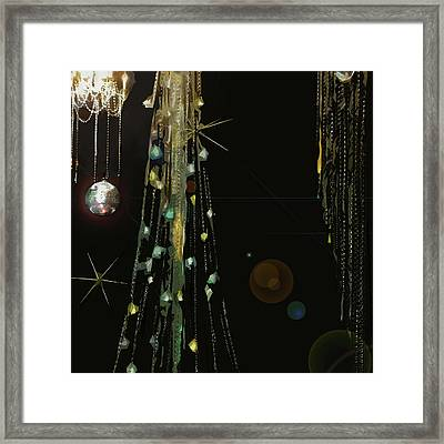 New Years At The Ritz Framed Print