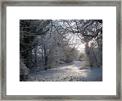 New Year's Day Morning. Framed Print by Jamie Patterson