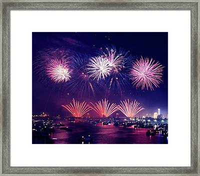 New Year's Eve Framed Print by Aaron Burden
